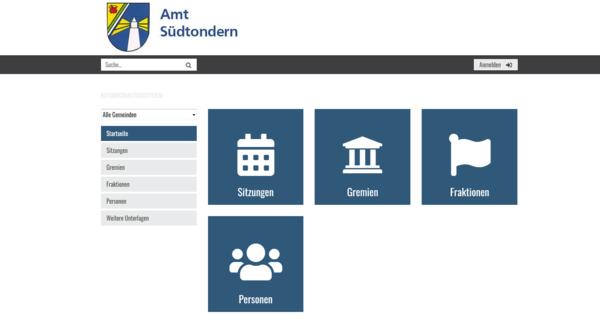 Ratsinformationssystem Amt Südtondern